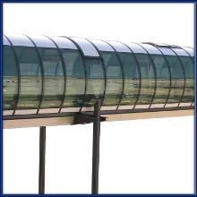 Tunnel di collegamento in policarbonato compatto