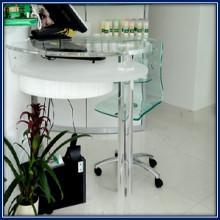 barre quadrate e tonde per gambe del tavolo