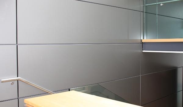 Rivestimenti pareti in Alluminio composito