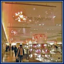 Pvc trasparente per insegne negozi