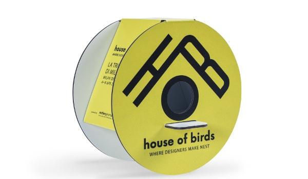 Casetta per uccelli in pvc composito -Palboard