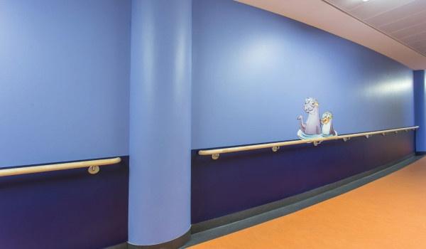 PalcladPro Rivestimento pareti asili